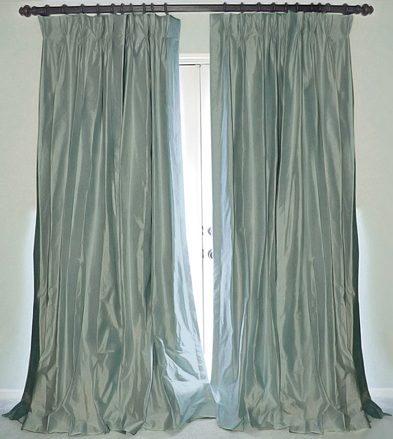 silk dupioni drapes traditional curtains new orleans