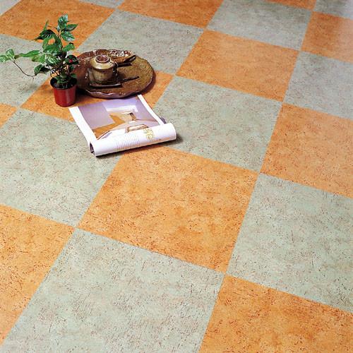 Vinyl tiles floor