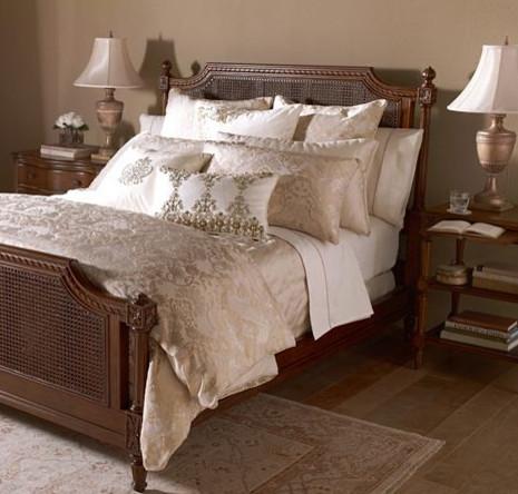 Camella Brocade Bedding modern-bedding