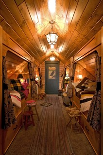 attic built-ins include beds