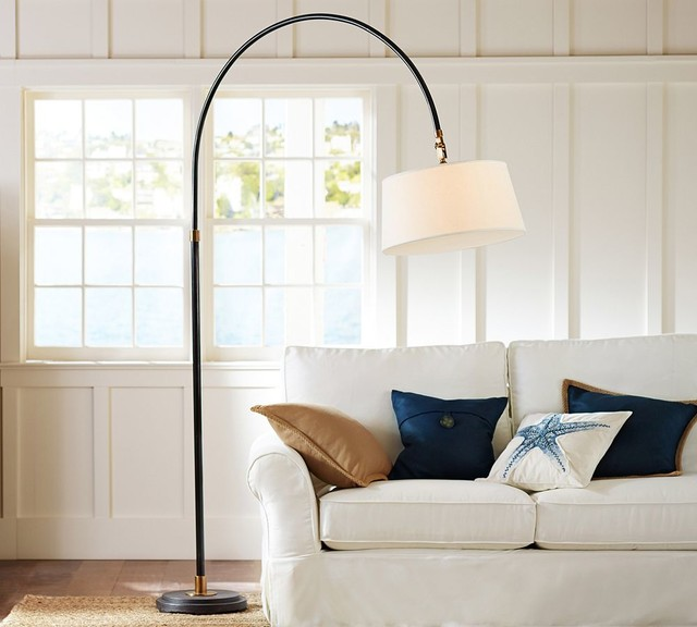 Winslow Arc Sectional Floor Lamp Traditional Floor