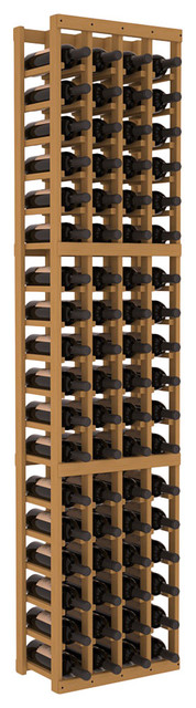4 Column Standard Wine Cellar Kit in Pine, Oak contemporary-wine-racks