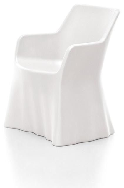 Phantom Armchair, White modern-accent-chairs