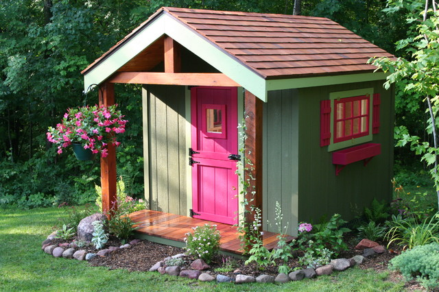 Deluxe Potting shed - Sheds - minneapolis - by Northwood Outdoor