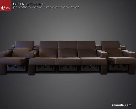 MODULAR LUXUR SOFA by CINEAK Seating>> STRATO + -