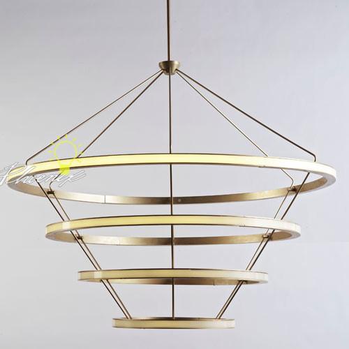Halo Chandelier modern-chandeliers