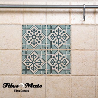 wall tile decals eclectic tile other metro by