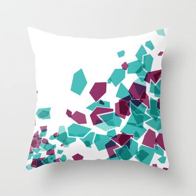 Mosiac Xplosion Throw Pillow modern-decorative-pillows