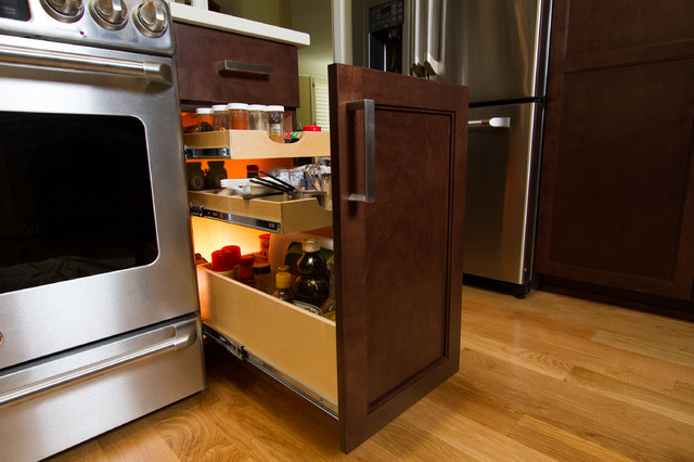 Kitchen Pull Out Shelves - Cabinet And Drawer Organizers - other metro - by ShelfGenie National