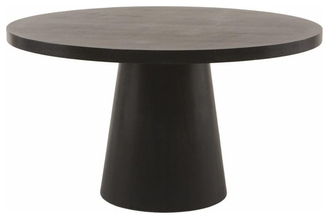 Inch Round Pedestal Dining Table 0681 Contemporary Dining Tables
