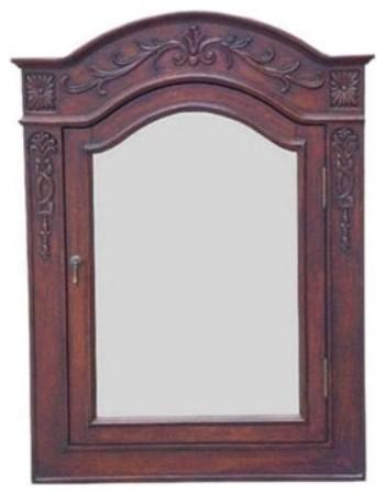 Lido 30 Inch Mirror Medicine Cabinet traditional-medicine-cabinets