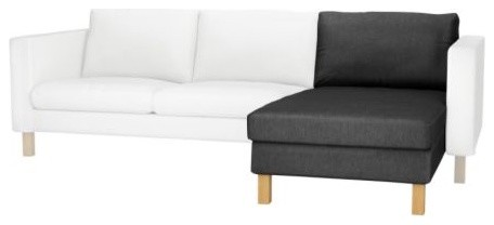 KARLSTAD Chaise, add-on unit modern-indoor-chaise-lounge-chairs