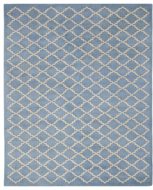 Blue Grey Area Rug   Contemporary   Area Rugs   Other Metro   By Area