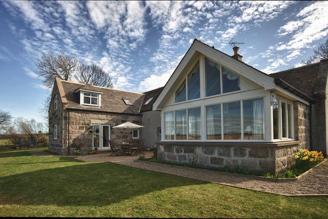 Drumoak Residence traditional-exterior