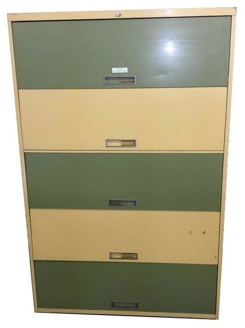 Mid-Century Modern Standing File Cabinet modern-filing-cabinets-and ...