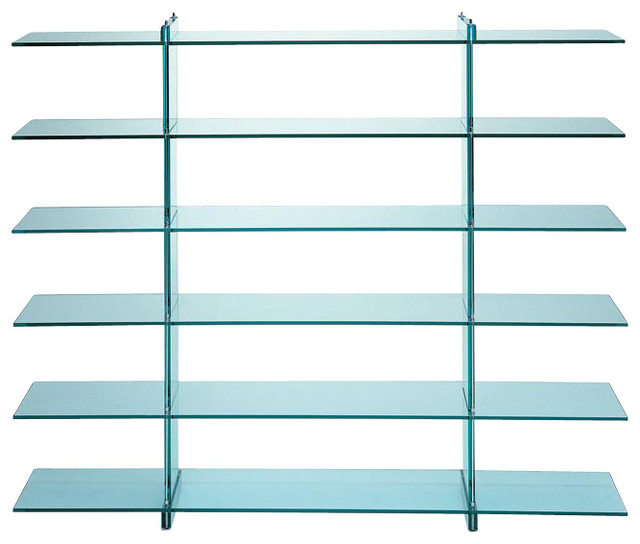 FontanaArte Teso Book Shelf contemporary-bookcases