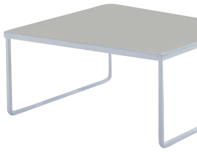 Franklin Desk Riser White Small Contemporary Desks