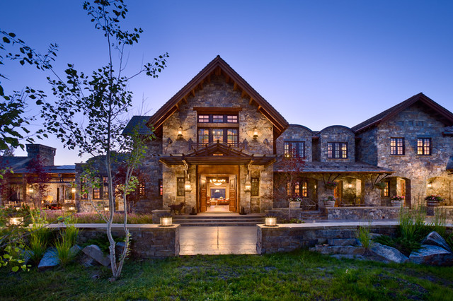 Quiet Waters Residence traditional-exterior