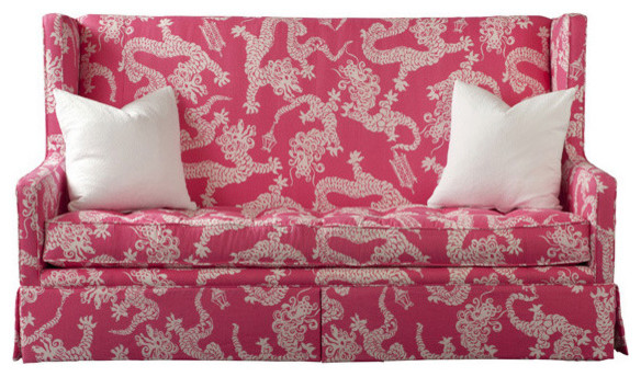 Leigh Settee by Lilly Pulitzer eclectic love seats