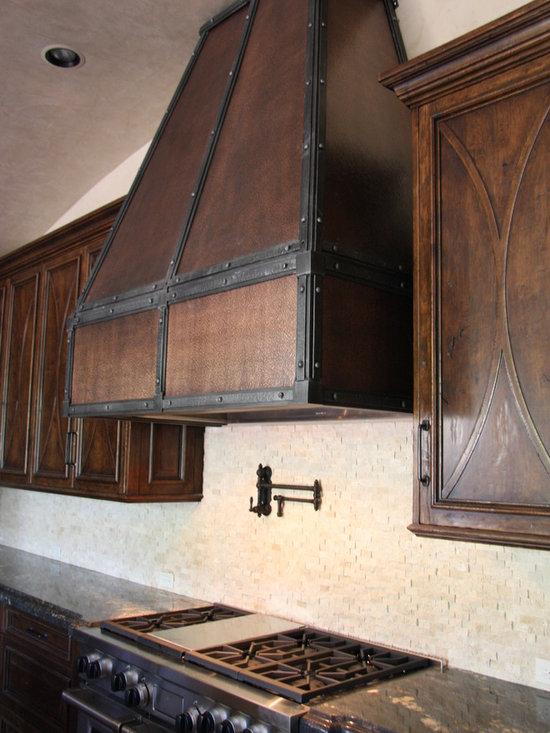 Custom Copper and Steel Hood -