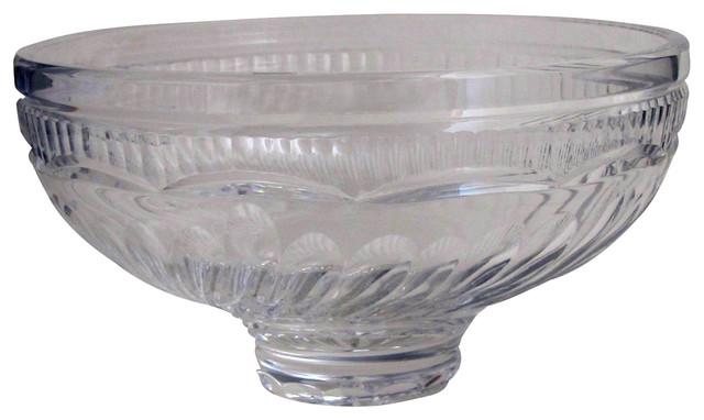 Cut glass bowl Tipperary crystal Ireland modern-decorative-bowls
