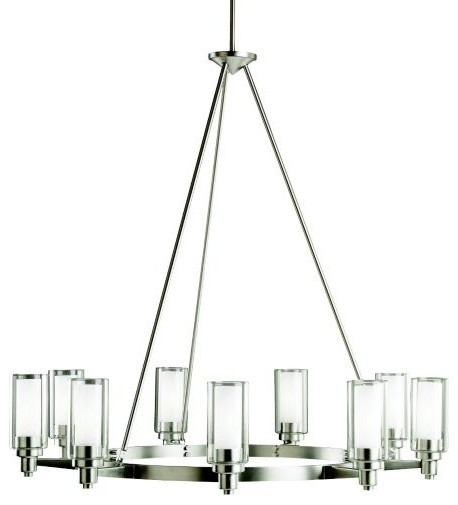 Circolo Round Chandelier contemporary-chandeliers