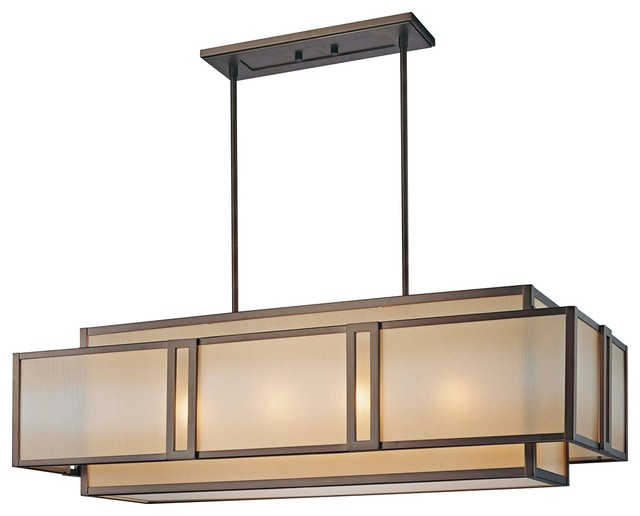 Walt Disney Signature Underscore Rectangular Chandelier