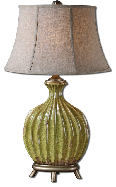 Carentino Green Table Lamp traditional-table-lamps