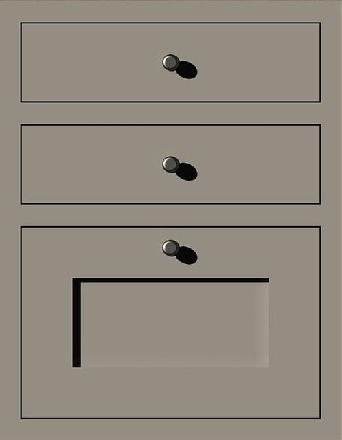 Custom Modular Inset Cabinets traditional