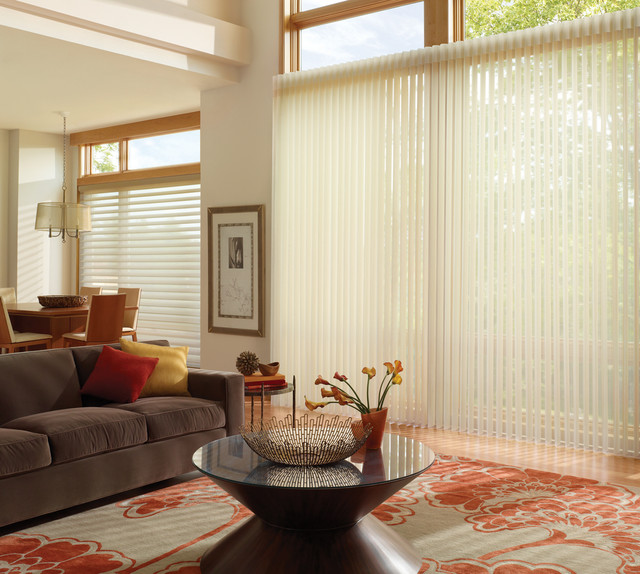 Silhouette® Counterparts® Whole House Solutions PowerGlide® 2.1 contemporary-cellular-shades