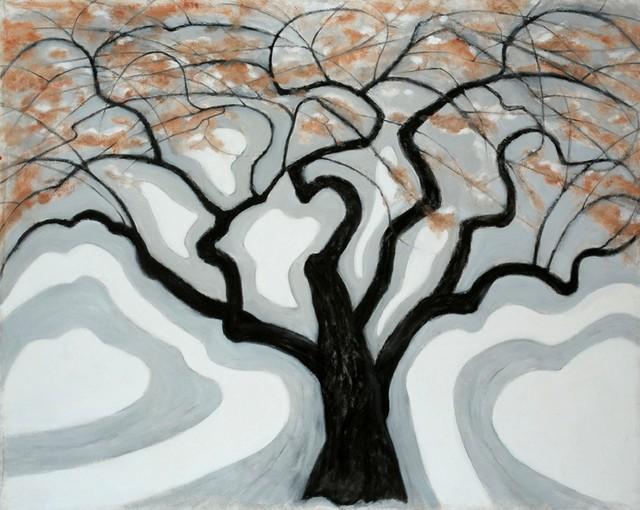 Tree Energy / Silence  42x54 contemporary-artwork