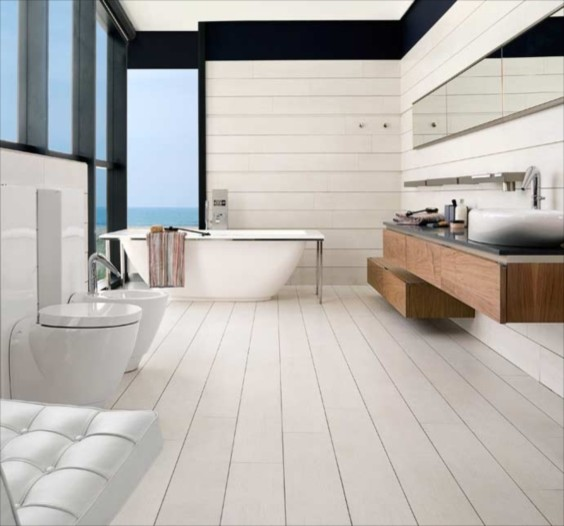 Porcelanosa roble boston traditional wall and floor tile for Porcelanosa floor tiles