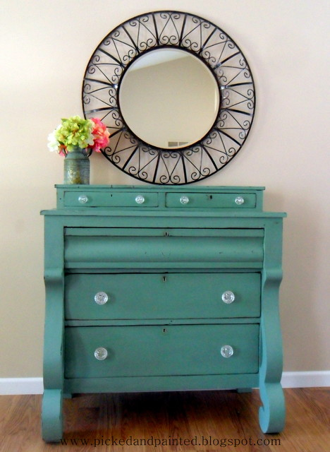 Empire Dresser Before and After