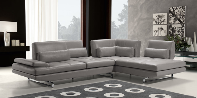 Modern Living Space modern sectional sofas los angeles