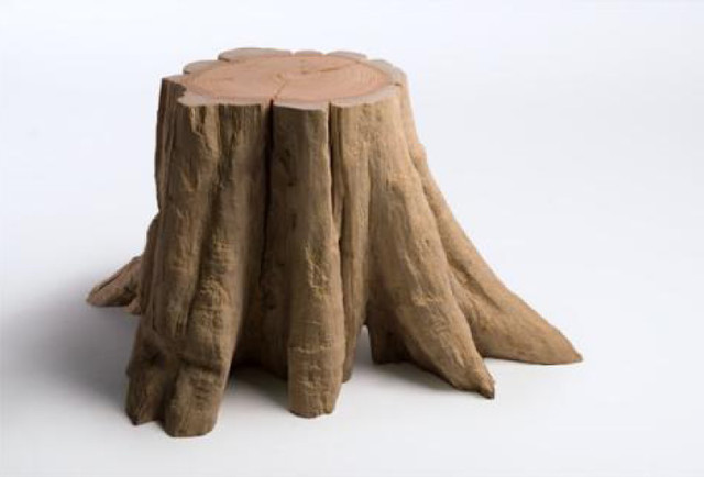 Stool / End Table eclectic-side-tables-and-end-tables