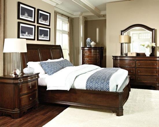 """St. James"" Collection 6-piece Bedroom Set -"