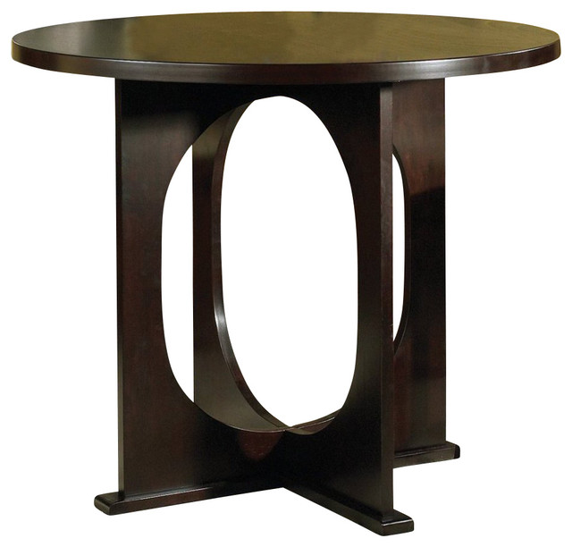 Steve silver rossi 42 inch round counter height table for 42 inch round dining table