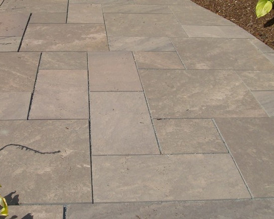 Cumberland Brown Sandstone Pavers -