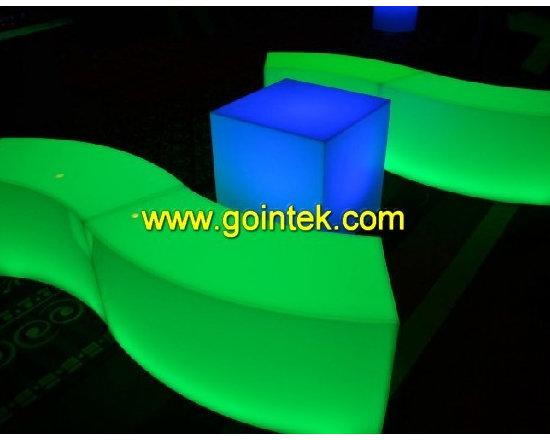 Illuminated Led Stools,lighting bench -