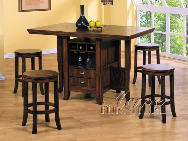 counter height kitchen table set 6300 5 traditional dining tables