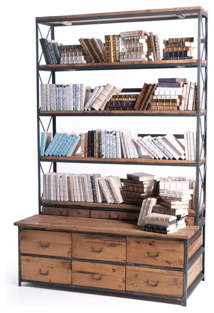 Baxter Bookcase industrial-bookcases