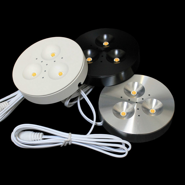 LED Puck Light and Downlight Kits traditional-kitchen-lighting-and-cabinet-lighting