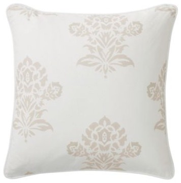 Bone Jaipur Throw Pillow traditional-decorative-pillows