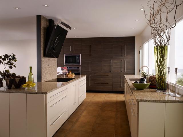Brookhaven horizons kitchen contemporary kitchen for Brookhaven kitchen cabinets