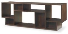 Century Furniture Living Room Geometric Entertainment Bookcase 41H-776 at Paul S
