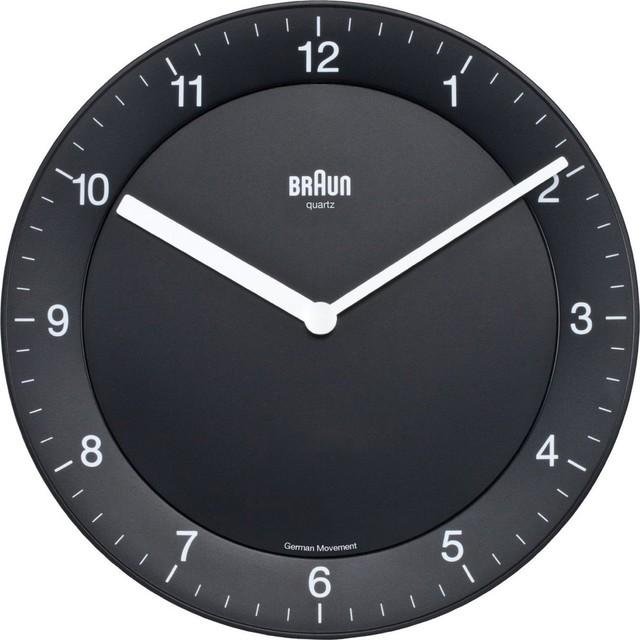 Braun Braun Wall Clock contemporary-clocks