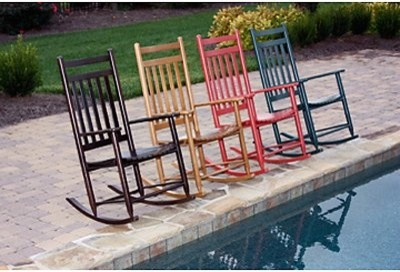 Dixie Seating Slat Rockers-Mix and Match 2 Rockers modern-rocking-chairs