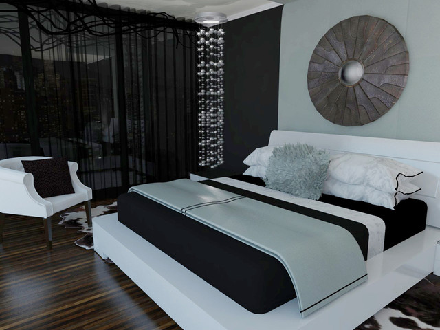 Condo Bedroom - Concept contemporary-rendering