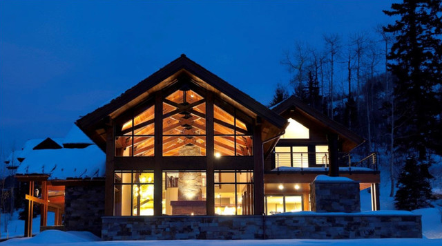 Aspen Highlands House / Moutain Luxury traditional-exterior