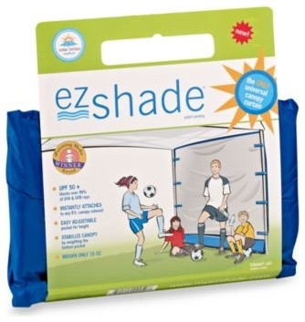 ezShade UPF 50+ Portable Straight Canopy Curtain contemporary-outdoor-products